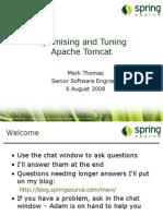 Optimizing and Tuning Apache Tomcat