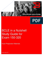 BCLE 2010 Nutshell