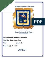 Monografia de Investigacoin cientifica en el Peru