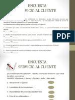 Encuesta Servicio Al Cliente