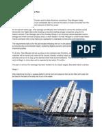 Costa Concordia Salvage Plan