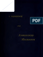 Handbook Machinists