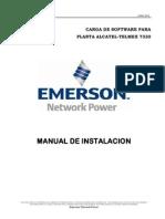 Manual de Carga de Software Planta Alcatel-Telmex 7330