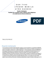 Samsung Galaxy Mini Guide Utilisateur