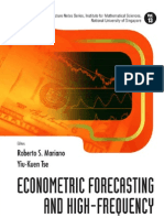 Mariano R.S., Tse Y.-k. (Eds.) Econometric Forecasting and High-Frequency Data Analysis (WS, 2008)(ISBN 9812778950)(200s)_GL