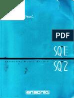 Ensoniq SQ-1Plus SQ-2 Manual