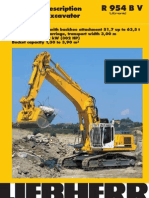 Technical Description Hydraulic Excavator R 954 B v `