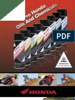 Brochure 2008 Honda Oil and Chemicals