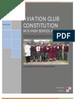 Aviation Club Constitution