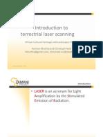 Introduction 2 Laser_Scanning