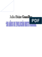 gonzales julio heise - 150 años de evolucion institucional 1