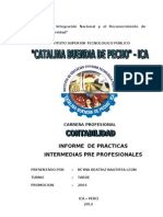 Informe de Practicas Intermedias