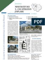 78 Les Mureaux _nouveau pôle administratif _construction HQE _référence ARENE2005