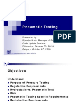 Pneumatic Testing Presentation