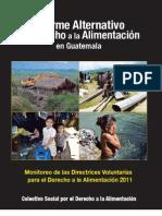 Colectivo Social Derecho a Alimentación - Informe Alternativo- Monitoreo de Directrices Voluntarias para DA 2011