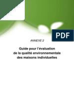 HQE Maison Individuelle _guide de l'évaluation B P TP