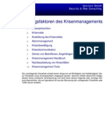 Krisenmanagement Checkliste