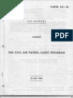 CAPM 50-16 the CAP Cadet Program 20 Jul 1968 Part 1