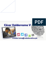Cesar Valderrama Villanueva