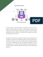 Instrumentacion t lazos de control Reactor Isotermico