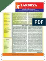 """SSITM MBA Newsletter - """"Lakshya"""" (Jan - June 2012)"""