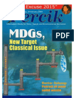 Indonesia Water Supply and Sanitation Magazine PERCIK February 2004 MDG's New Target Classical Issue