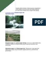 EkoPelancongan vs Agropelancongan
