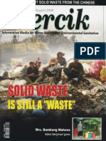 Indonesia Water Supply and Sanitation Magazine PERCIK August 2004. Solid Waste is Still a Waste
