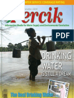Indonesia Water Supply and Sanitation Magazine PERCIK October 2004. Drinking Water is Still a Dream