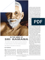 In the Arms of Sri Ramana (Life Positive)