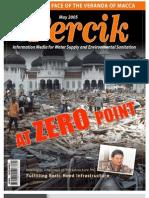 Indonesia Water Supply and Sanitation Magazine PERCIK May 2005. At Zero point