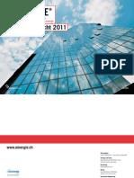 Geschäftsbericht 2011 des Vereins MINERGIE