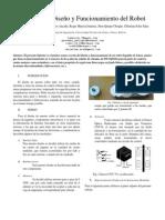 Informe del Diseño y Funcionamiento del Robot