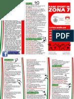 Brochure Sport Zona 7 2012-13