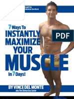 7 Ways to Instantly Maximize Your Muscle