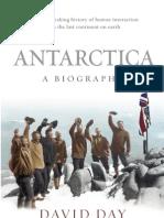 Author Q&A With David Day, author of Antarctica