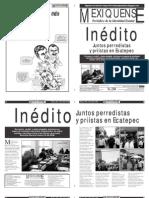 Versión impresa del periódico El mexiquense 5 julio 2012