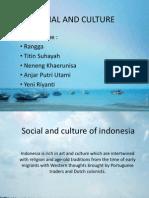 Social and Culture