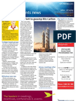 Business Events News for Wed 15 Feb 2012 - Marriott, Abu Dhabi, AIME, Air Mauritius and much more