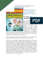 Articulo El Jueves - Funcionarios
