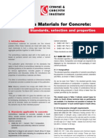 Cement Specifications