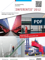 Brochure Schelde Conferentie 2012