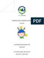 Thinking Skills Learning Journal 2