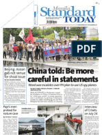 Manila Standard Today - July 5, 2012 Issue