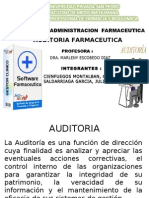 AUDITORIA FARMACEUTICA