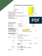 Liftinglug calculator