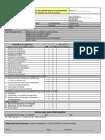 Relatório de verificação de segurança de máquinas (DL 50-2005)