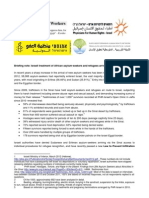 EU Briefing Note on Refugees in Isr Short April 2012