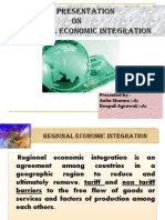 Regional Economic Integration-International Marketing