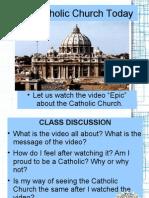 Lesson 1 - Jesus, Through the Church - Part II